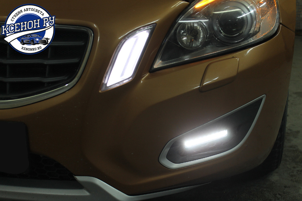 volvo s60 drl philips 9led