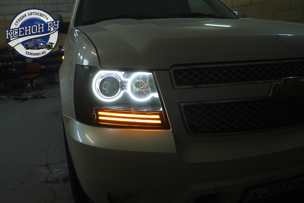 chevrolet tahoe light custom