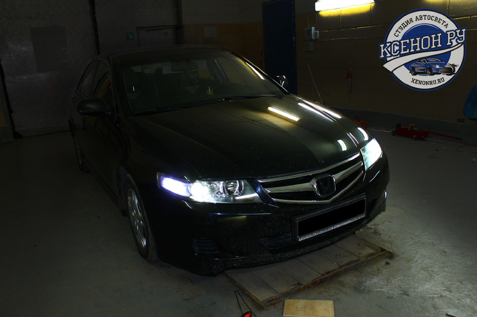 honda accord 7 фары