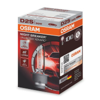 Ксеноновая лампа D2S OSRAM Xenarc Night Breaker Unlimited +70%